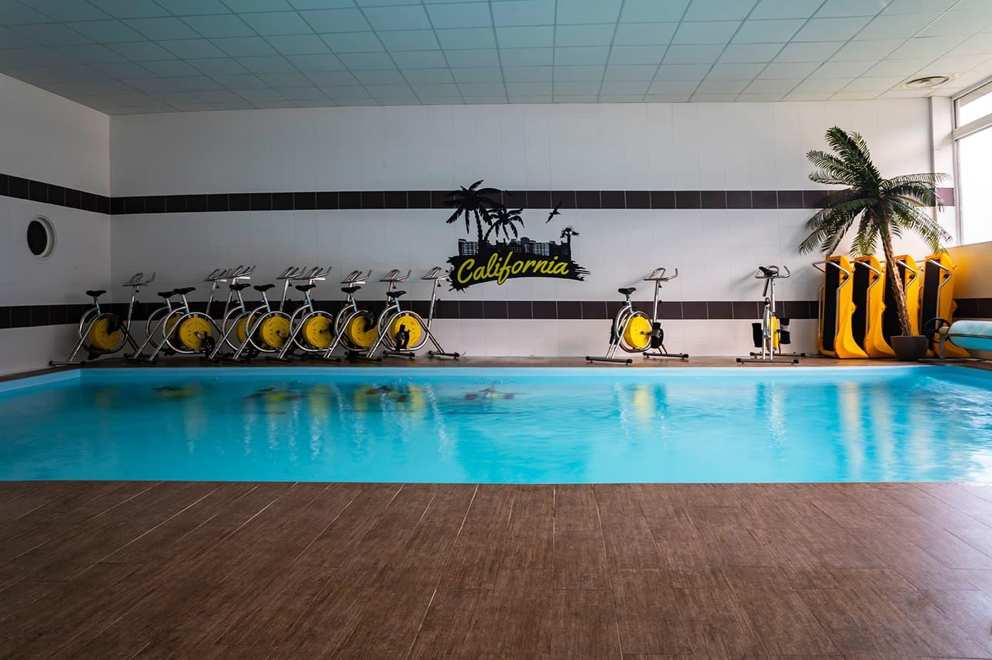 espace piscine CaliforniaGym Voreppe